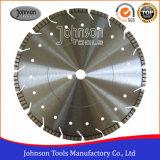 350mm che il laser ha saldato il diamante la lama per sega con il segmento del Turbo per l'uso generale