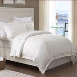 極度の柔らかい耐久のサテンの縞のホテルの綿の寝具の一定の寝具