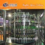 Pianta di riempimento della birra della bottiglia di vetro