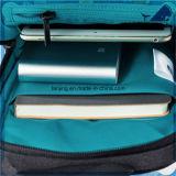 Перекрестная сумка человека холстины мешка плеча посыльного компьтер-книжки тела помытая