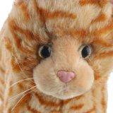 Giocattolo dei gatti della peluche del giocattolo di emulazione della qualità superiore