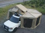 Einziehbarer kampierendes Auto-seitlicher Regen-runde Markise für Verkauf