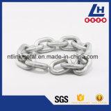 Il TUFFO caldo galvanizza la catena dell'acciaio legato G80 per la nave