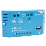 Epsolar 10A PWMの5VDC/1.2A出力USBポートが付いている太陽料金のコントローラ12V