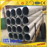 tubo de aluminio circular/redondo de Diametre grande anodizado 6000series