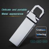 Libre modificar 2.0 de alta velocidad y de calidad superior de la insignia para requisitos particulares del metal mecanismo impulsor de destello del USB