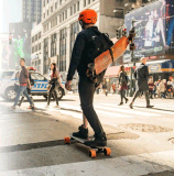 O skate fresco UL2272 do esporte aprovou o skate elétrico de 4 rodas