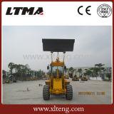 中国の小さいフロント・エンドローダー2.5トンの車輪のローダー