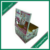 Glatte Laminierung-bunte Drucken-Papverpackenkasten für Baby-Sitz