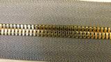 Langkettiger Metallsilber-Zahn-Reißverschluss für Kleider 7040
