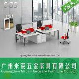 Form-Büro-Schreibtisch mit justierbarem Stahltisch-Fuß