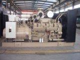 Cummins Engineが付いている1000kwエンジンの発電機