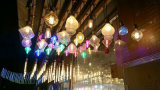 2W 4W 6W 8W G95 Half Silver Filament Bulb Holiday Lights