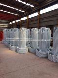 Transporteur de base rond blanc de fil d'acier de sortie d'usine