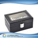 Caja de embalaje de madera/del papel de lujo de la visualización para el regalo de la joyería del reloj (xc-dB-014)