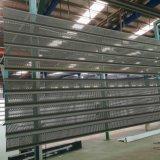 Strato di alluminio perforato e comitato di alluminio ondulato