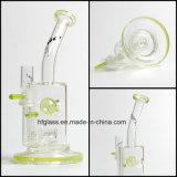 Hfy GlasSlyme grüner Toro Glasstrahl Perc Kobold-Trinkwasserbrunnen-rauchende Wasser-Rohr-Ölplattform KLEKS Wasser-Rohr-Bienenwabe-Huka