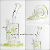 Vidrio de Toro 8 pulgadas que fuman para el tubo de agua con el jet Perc por color importado americano cualquie tubo de agua de botella