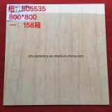 Heiße Verkaufs-Baumaterial-China-natürliche 80 Grad-weiße Marmorsteinfußboden-Porzellan-Fliese