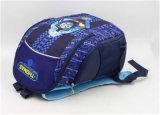 Sacs d'épaule de sac à dos/cordon d'élève de Thomas de polyester du bleu marine 600d