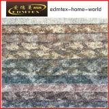 Tela de confeção de malhas de veludo da tela 2016 de matéria têxtil do poliéster (EDM-TC71)