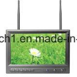 Dual o receptor de 32 avoirdupois da canaleta monitor do CCTV de 8 polegadas