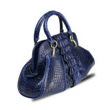 Frauen-Handtaschen-echtes Leder-Form-Krokodil-Schultertote-Beutel