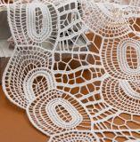 Tessuto solubile in acqua poco costoso all'ingrosso del merletto 2017, merletti belli personalizzati