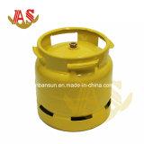 Bombola per gas del butano GPL di pressione bassa di alta qualità del rifornimento, cilindro vuoto di 6kg GPL, bombola per gas dell'acciaio inossidabile