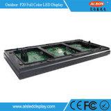Parete fissa esterna piena di colore SMD P20 LED video con Ce