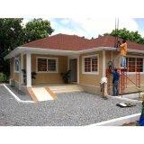 Buena casa de la casa prefabricada de la casa de la estructura de acero de la luz de la residencia de la visión