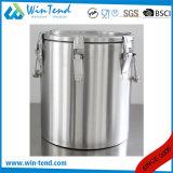 Type économique chaud d'acier inoxydable de vente 6 conteneur de nourriture de émulsion isolé portatif de boucle pour le transport