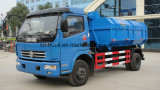 Dongfeng 6ton Detechable Container Garbage Waste Disposal Truck