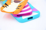 Reticoli svegli di Sulley Tigger del gatto del Cheshire del fumetto del silicone 3D per la cassa del telefono di Zte V6plus A315 A310 A510 X7plus