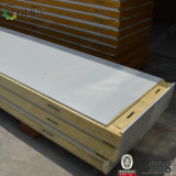 El panel de emparedado del poliuretano para el sitio del congelador
