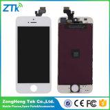 Großhandelstelefon LCD-Belüftungsgitter für iPhone 5 Bildschirmanzeige-schwarzes Weiß