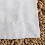 高品質のホテルの綿のサテンの縞の枕箱の枕カバー