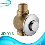 Soupape de vidange d'urinal d'usine de Guangdong avec le bouton