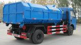 Caminhão da eliminação Waste do lixo do recipiente de Dongfeng 6ton Detechable