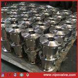 Le type acier modifié de gicleur a bridé le clapet anti-retour d'écoulement axial