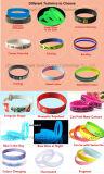 Bracelet fait sur commande de silicones de mode de cadeau de mariage avec le logo concave Sw10