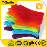 ТеплостойкfNs перчатка печи перчаток BBQ силикона