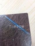 Plaque laminée à froid de feuille d'acier inoxydable de couleur de vibration pour la décoration
