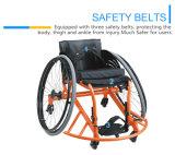 عادية - قوة ألومنيوم رياضة كرة سلّة كرسيّ ذو عجلات