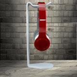 Weißer Acrylkopfhörer-Standplatz oder Kopfhörer-Halter