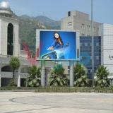 P8 que hace publicidad de la pantalla de visualización al aire libre a todo color de LED
