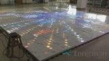 100pixel los paneles de acrílico del Portable 3D LED Dance Floor para la boda