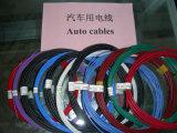 Изолированный PVC кабель автомобиля с залуживанным медным проводником