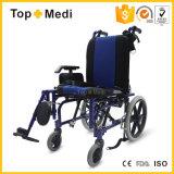 ردّ اعتبار معالجة يرقد يدويّة [سلبرل] حالة شلل أطفال كرسيّ ذو عجلات سعرات