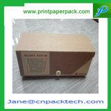주문을 받아서 만들어진 로고에 의하여 인쇄되는 서류상 선물 포장 상자